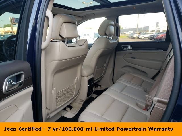 Certified Pre-Owned 2016 Jeep Grand Cherokee Overland