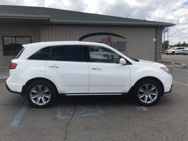 Pre-Owned 2013 Acura MDX 3.7L Advance Package