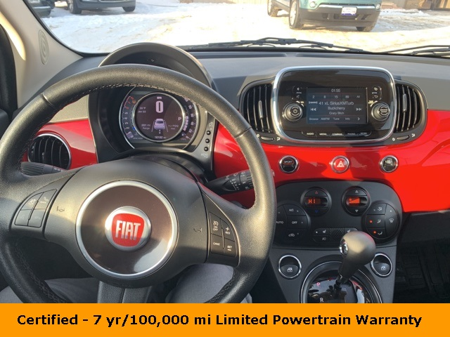 Certified Pre-Owned 2017 FIAT 500 Lounge