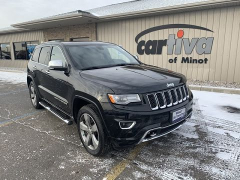 Pre-Owned 2014 Jeep Grand Cherokee Overland